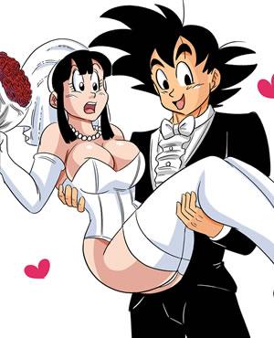 <b>龙珠邪恶同人漫画无修正:新婚之夜</b>